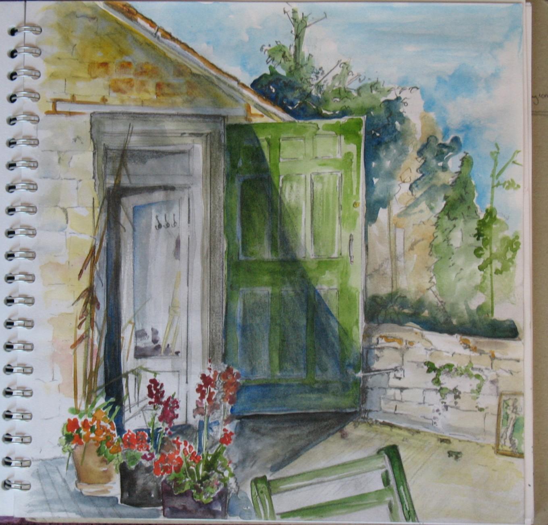 Watercolour Sketches Eleanor Marsh